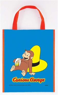 Curious George Party Tote