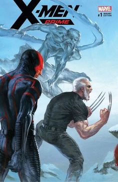 X-Men Prime #1 (2017) KRS Comics Exclusive Connecting Variant Cover by Gabriele Dell'Otto