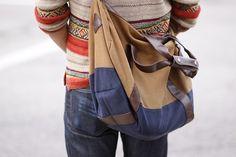 street style mens bag