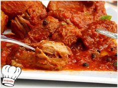ΜΟΣΧΑΡΙ ΚΟΚΚΙΝΙΣΤΟ ΜΕ ΑΓΚΙΝΑΡΕΣ!!! Curry, Cooking, Ethnic Recipes, Food, Kitchen, Curries, Essen, Meals, Yemek