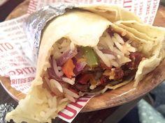 Barburrito - Chicken and chorizo