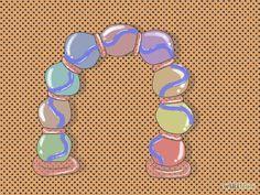 Make a Beach Ball Party Arch Step 6.jpg
