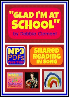 """Glad I'm at School"" Song of Affirmation with Movement by Debbie Clement Mp3 $"