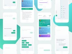 Credit App - Conversational UI designed by Anggit Yuniar Pradito for Omnicreativora. Connect with them on Dribbble; Mobile Ui Design, App Design, Mobiles Webdesign, Web Design Inspiration, Daily Inspiration, Creative Inspiration, Tracking App, Graphic Design Print, User Interface Design
