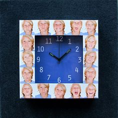 Made at http://www.printerstudio.com/personalized/imprinted-photo-clock-collage.html