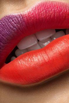 Beauty lips closeup on Behance
