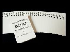 Bicycle Secret Weapon Deck Video Review. #playingcards #poker #Games #Magic #vietnam