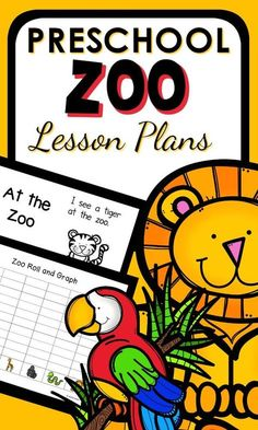 Preschool Zoo Theme Lesson Plans. Playful learning activities and printables for a week long preschool zoo theme