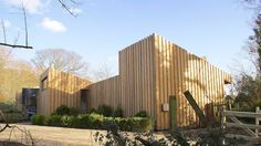 wrapped timber house by forresterarchitects in the norfolk broads, UK @Kenny Chang Chang Chang Forrester