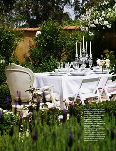 Breakfast in the garden~