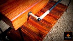 Madera y Hierro con detalles en tiento. 120 largo x 50 ancho x 80 altura. Apta para mesa de arrimo y otros usos. $2600 > https://www.facebook.com/media/set/?set=a.693054734083168.1073741871.468564766532167&type=1