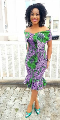 Ankara Xclusive: The Most Attractive and Popular African Print Dresses 2018 Remilekun - African Styles for Ladies African Fashion Designers, African Fashion Ankara, Latest African Fashion Dresses, African Print Fashion, Africa Fashion, Ghanaian Fashion, African Style, Short African Dresses, Ankara Short Gown Styles