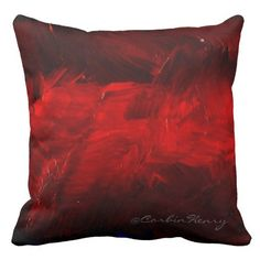1000+ images about Dark Red Throw Pillows on Pinterest Red Decorative Pillows, Cotton Throws ...