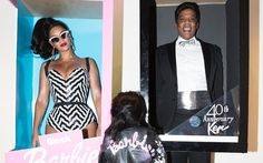 Beyonce is transformed into vintage Barbie on Halloween night out with Blue Ivy and Jay Z Barbie Halloween, Best Celebrity Halloween Costumes, Halloween Photos, Family Halloween Costumes, Halloween Night, Halloween 2016, Couple Halloween, Hilary Duff, Barbie And Ken Costume