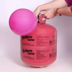 Make your balloons float with helium! This handy helium tank is perfect for birthday parties, celebrations, weddings, school dances and more! The helium tank is lightweight and disposable. It features an easy to use nozzle to fill up balloons in a snap and handles to carry easily. Helium Tank holds approximately 14.9 cubic feet of helium and includes 50 latex balloons measuring 9 inch each in assorted colors.This helium tank can fill approximately 50, 9 inch latex balloons; 27, 11 inch latex…