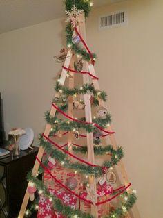 Thisgoldenpineapple Holiday series, Christmas tree. DIY