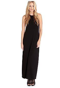 RM Richards Crystal Pendant Dress - Belk.com (  cool scarf? I ...