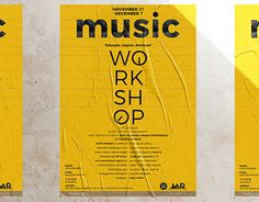 """Check out new work on my @Behance portfolio: """"Music Workshop Poster Design"""" http://be.net/gallery/58337859/Music-Workshop-Poster-Design"""