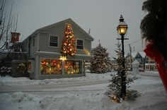 Christmas in Kennebunkport, ME