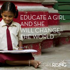 With education comes freedom. Intel is a proud sponsor of the new film, Girl Rising