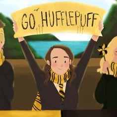 Go Hufflepuff! Saga Harry Potter, Images Harry Potter, Harry Potter Houses, Harry Potter Universal, Harry Potter World, Harry Potter Hogwarts, Harry Potter Memes, Hogwarts Houses, Must Be A Weasley