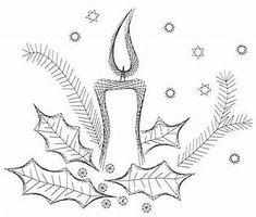 Afbeeldingsresultaten voor borduren op karton Diy Christmas Cards, Christmas Art, Embroidery Cards, Embroidery Patterns, Embroidered Paper, Stitching On Paper, Sewing Cards, String Art Patterns, Christmas Embroidery