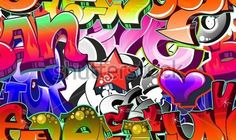 Graffiti Achtergrond Stedelijke Straat Muur clip arts - ClipartLogo.com