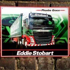 EDDIE STOBART PHOEBE GRACE - licensed metal wall sign! In house design :)