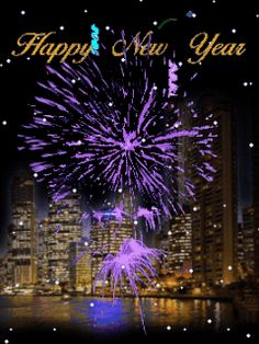 2018 animated happy new year