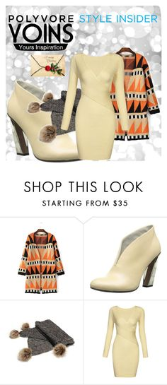 """""""Yoins #17/8"""" by s-o-polyvore ❤ liked on Polyvore featuring UN United Nude, yoins, yoinscollection and loveyoins"""
