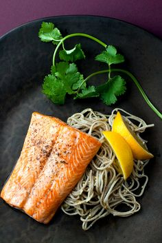 NYT Cooking: Soba, the slender buckwheat noodles from Japan, are pale brown in color, earthy in flavor and springy in the bite. Pair them with a silky, pink piece of fish to create a simple, elegant study in contrasts. The fish here, Arctic char, is reminiscent of salmon but has a more delicate texture. It's seasoned with cumin seeds that, in a clever move, are briefly toasted ...