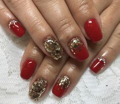 Christmas nail design choice by Nasia nails art