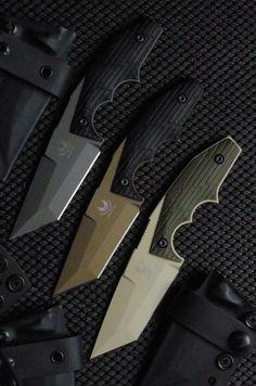 Andrew Bawidamann Custom Fixed Knife Blade @aegisgears