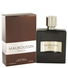 Mauboussin Pour Lui By MAUBOUSSIN 3.4 oz PERFUME EDP Spray FOR MEN new #Mauboussin