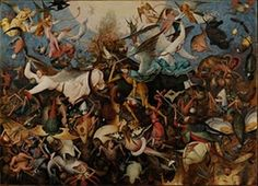 The Fall of the Rebel Angels - Pieter Bruegel the Elder — Google Arts & Culture