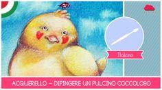 Nuovo video sull'acquerello! Uno ogni martedì sul mio canale: www.youtube.com/Fantasvale  #arte #illustrazione #disegno #dipingere #acquerelli #Fantasvale #lezioni_di_arte #tecniche #belle_arti #pulcino