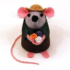 When Buddy the #Gardener Mouse isn't busy pruning planting or harvesting you can find him enjoying a well-earned snooze stretched out on a hammock in the dappled sunshine.  #gardening #garden #etsy #mouse #rat #handmade #artisan #collectables #art #etsylove #cute #happy #craft #love #etsyshop #etsystore #etsyfinds #etsygifts #etsysellers #etsysellersofinstagram #thehouseofmouse #thom #THOMPins #fun #funny #humor #laugh #lol