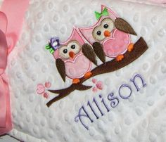Personalized, Handmade baby stuff from Etsy