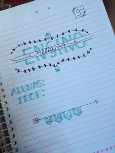 Bullet Journal School, Bullet Journal Art, Bullet Journal Ideas Pages, Bullet Journal Inspiration, Notebook Drawing, Cute Easy Drawings, Pretty Notes, Study Planner, Cool Lettering