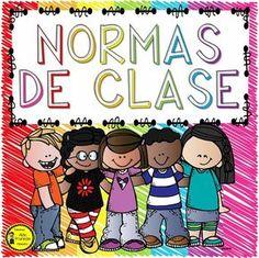 RECURSOS ESCOLARES: LAS NORMAS DE CLASES EN IMÁGENES