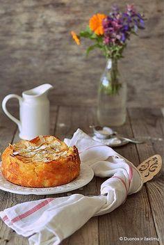 Una torta di mele da Bolzano. Italian apple cake from Bolzano