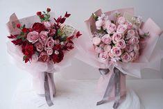 Pink Flower Bouquet, Silk Flowers, Gift Bouquet, Floral Wreath, Wreaths, Plants, Gifts, Ideas, Floral Crown