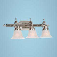 Millennium Lighting 373-SN 3 Light Bathroom Light Satin Nickel