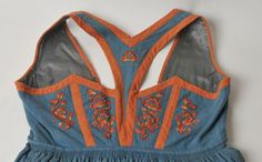 DigitaltMuseum - Bunad Vintage Outfits, Vintage Clothing, Traditional Outfits, Athletic Tank Tops, Vest, Clothes, Sewing, Women, Fashion