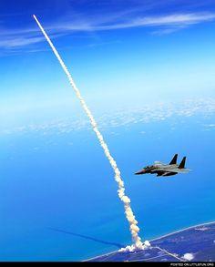 F15 shuttle launch