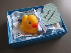 """Geldgeschenke - """"Im Geld schwimmen"""" ♥Geldgeschenk♥ - ein Designerstück von geldengel bei DaWanda"""