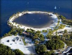 "Matheson Hammock, Coral Gables, Fl >> A ""pool"" fed by ocean water."