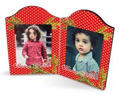 La decorazione natalizia per le cornici componibili