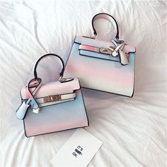 "Sweet rainbow gradient bag Coupon code ""cutekawaii"" for 10% off"