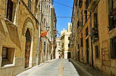 Centre ville de Tarragone - Espagne